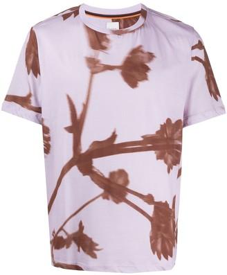 Paul Smith floral-print crew neck T-shirt