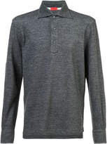 Isaia long-sleeve polo shirt
