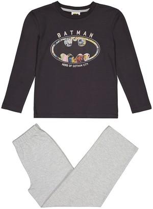 Batman Cotton Print Pyjamas, 6-12 Years