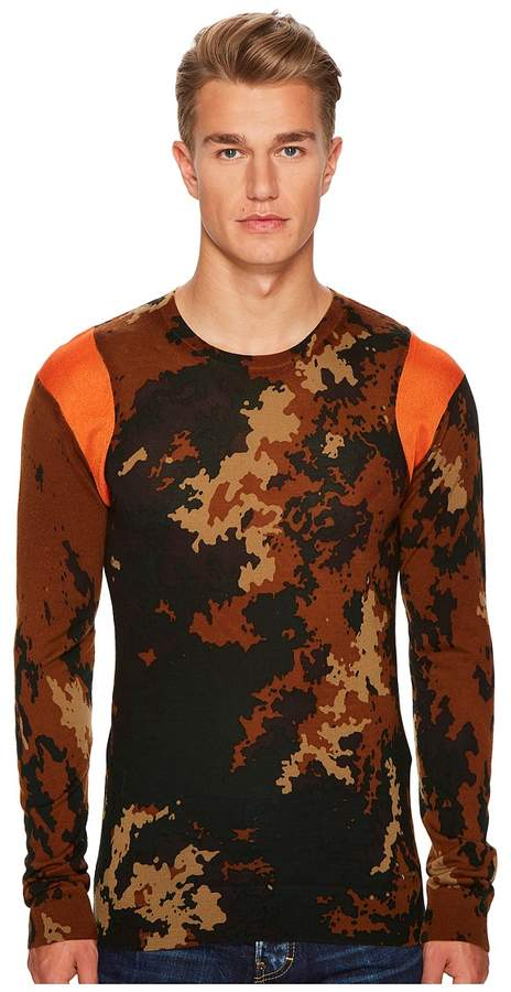DSQUARED2 Camouflage Sweater Men's Sweater
