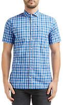 Hugo Boss Boss Orange Cattitude Slim Fit Shirt, Open Blue