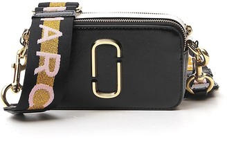 Marc Jacobs Logo Strap Snapshot Camera Bag