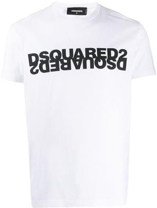 DSQUARED2 logo detail T-shirt