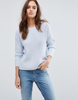 Selected Knit Pullover Top