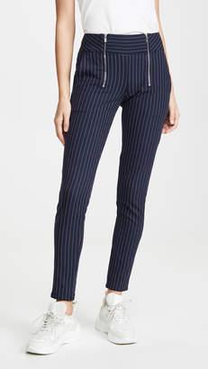 Scotch & Soda High Rise Skinny Zip Detail Pants