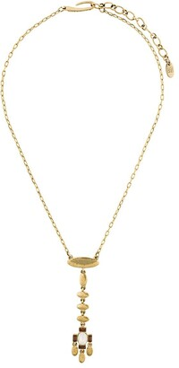 Givenchy Pre Owned 1980's Dangling Pendant Necklace
