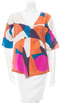 See by Chloe Silk Printed Top