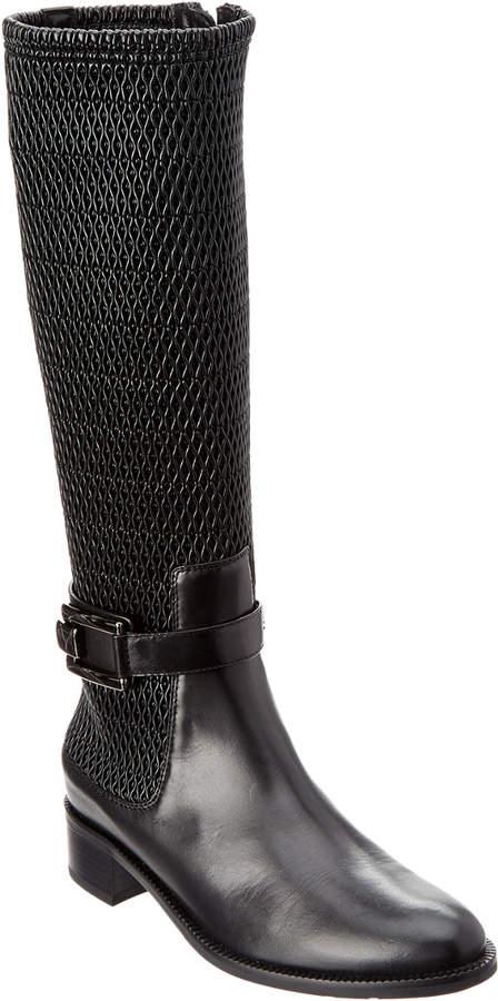 Aquatalia Odilia Waterproof Leather Riding Boot