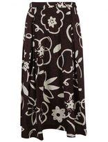 Aspesi Floral Print Pencil Skirt