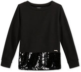 GUESS Embellished Sweater, Big Girls (7-16)