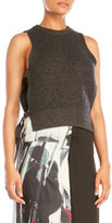 DKNY Petite Sleeveless Open Side Pullover