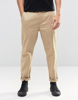 Lindbergh Chino With Drop Crotch In Sand