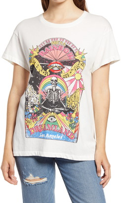 Daydreamer Rolling Stones She's a Rainbow Graphic Tee