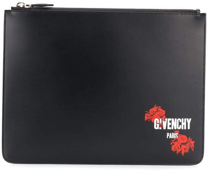 Givenchy logo printed pouch