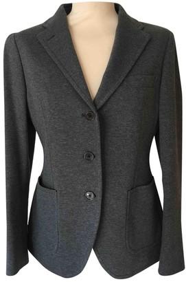Tagliatore Grey Cotton Jacket for Women
