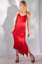 Bardot Makayla Spliced Slip Midi Dress