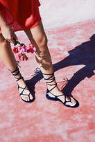 Jeffrey Campbell Aria Velvet Sandal by at Free People