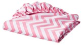 Circo 100% Cotton Woven Chevron Fitted Baby Crib Sheet