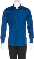 Alexander McQueen Belt-Accented Woven Shirt