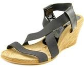Eric Michael Elena Open Toe Synthetic Wedge Sandal.