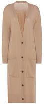 Balenciaga Oversized Wool And Cashmere Cardigan