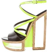 Casadei Crossover Cutout Sandals