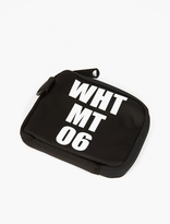 White Mountaineering LOGO ZIP POUCH