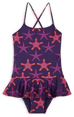 Vilebrequin Little Girl's & Girl's Starfish Dance One-Piece Swimsuit