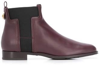Tod's elasticated panels ankle boots