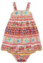 Dolce & Gabbana Mambo Print Dress and Pant Set