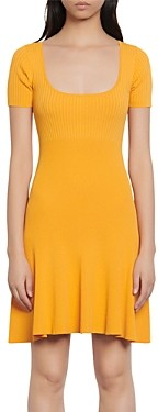 Sandro Synn Short Knit Dress
