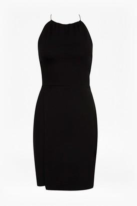 French Connection Santorini Drape Jersey Strappy Dress