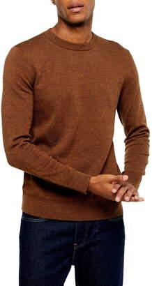 Topman Essential Classic Fit Crewneck Sweater