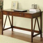 Linon Titian Desk in Antique Tobacco