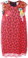 Christopher Kane floral broderie dress