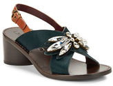 Marc Jacobs Madsion Calf Hair Statement Sandals