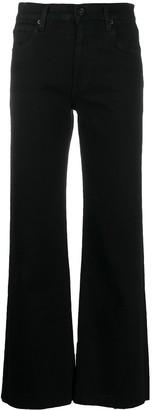 SLVRLAKE High Rise Flared Leg Jeans