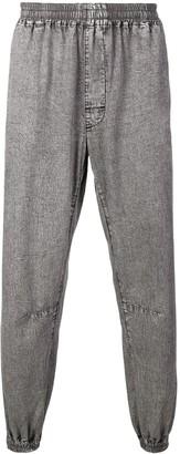 Marcelo Burlon County of Milan elasticated track jeans