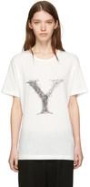 Yohji Yamamoto White 'Y' T-Shirt