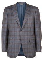 Canali Tonal Overcheck Jacket
