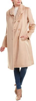 Sofia Cashmere Sofiacashmere Alpaca-Blend Coat