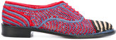 Robert Clergerie woven loafers
