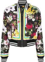 Dolce & Gabbana Floral Bouquet printed bomber jacket