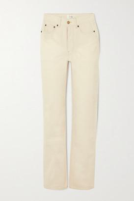 Victoria Victoria Beckham High-rise Straight-leg Jeans