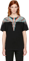 Marcelo Burlon County of Milan Black Silus T-shirt