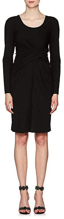 Giorgio Armani Women's Ruched Stretch-Jersey Dress