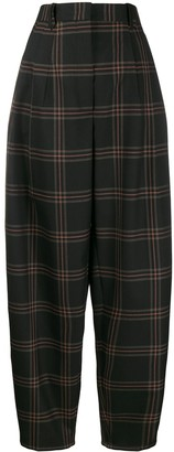 Paul Smith drop-crotch tapered trousers