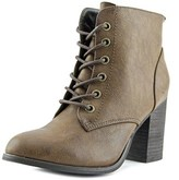 Diba Tracey Women Round Toe Synthetic Bootie.