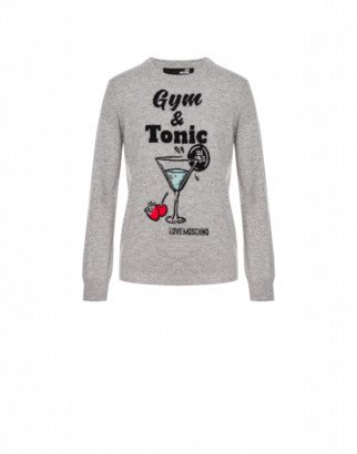 Love Moschino Sweater Gym & Tonic