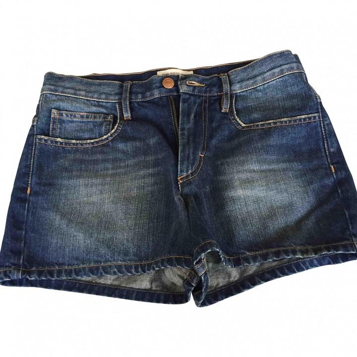 Etoile Isabel Marant Blue Denim - Jeans Shorts for Women